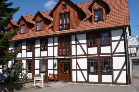 Apotheke Adorf, Diemelsee, Fachwerkhaus